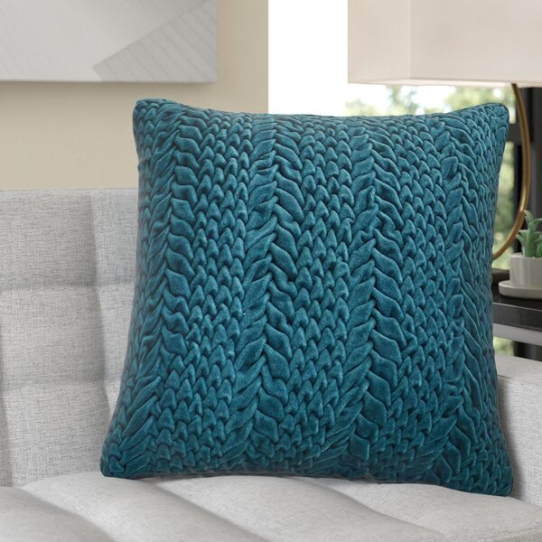 Stoney Littleton 100% Cotton Throw Pillow by Wade Logan